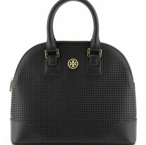 Tory Burch Robinson perforated Dome purse